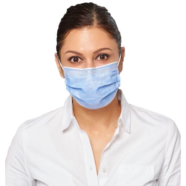 atemschutzmaske Typ 2R in blau