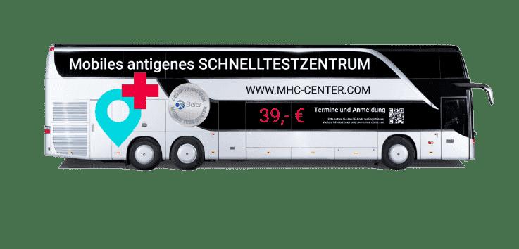 Mhc Bus Freigestellt Testzentrum