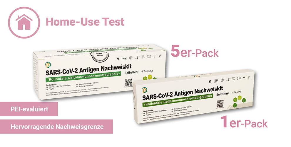 pergrande antigen selbsttest 5er und 1er packung