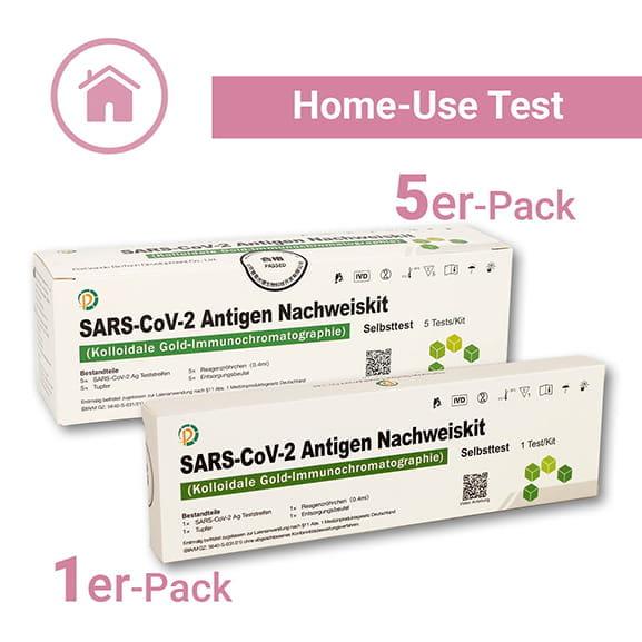 pergrande home use als 5er oder 1er packung